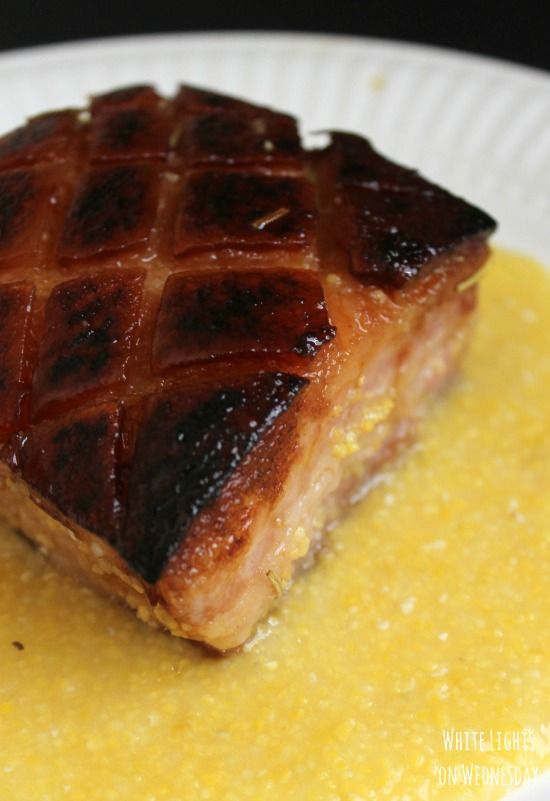 Braised Pork Belly with Polenta 4