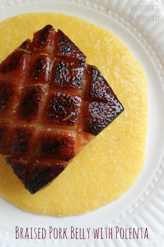 Braised Pork Belly with Polenta 5.1