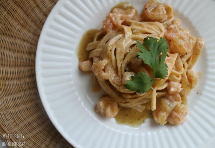 Green Chile Shrimp Pasta 1