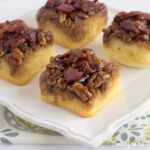 Mini Maple Bacon Upside Down Cakes