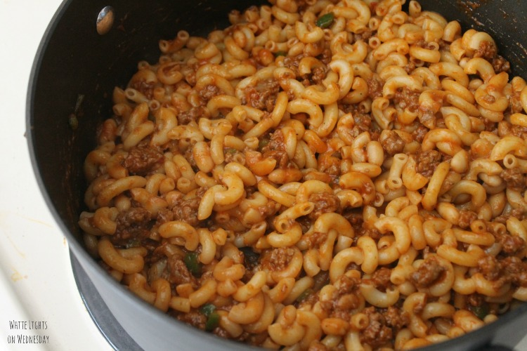 One-Pot Southwest Macaroni | White Lights on Wednesday