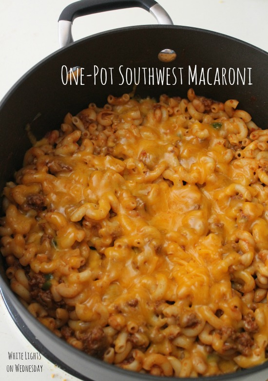 One-Pot Southwest Macaroni