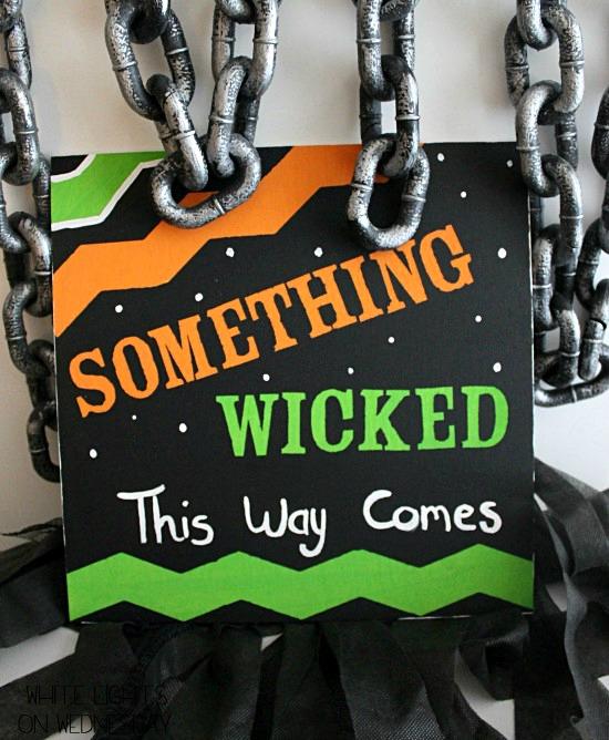Something Wicked Halloween Art