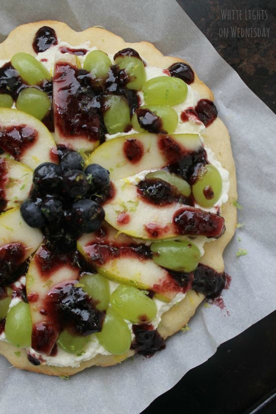 Easy Summer Fruit Pizza