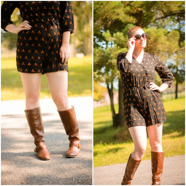 Perfect Fall Transition Piece : The Romper :