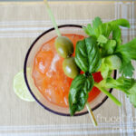 Basil & Garlic Bloody Mary