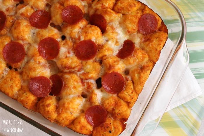 Pepperoni Pizza Bake 2