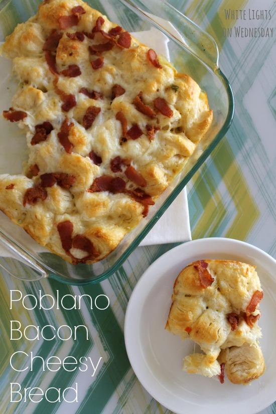 Poblano Bacon Cheesy Bread 6