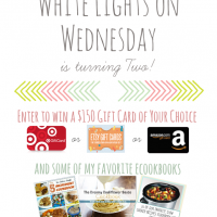 White Lights on Wednesday 2nd Blog Birthday Giveaway!