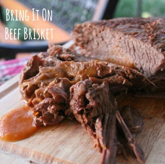 """""""Bring It On"""" Beef Brisket"""