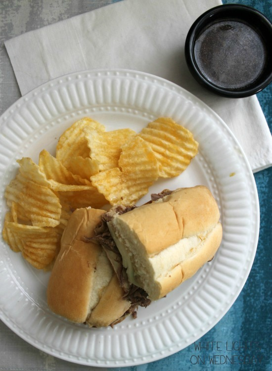 Marie's Crock Pot French Dip 1