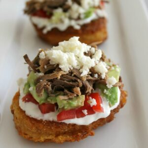 Mini Corn Cake Tostadas 2