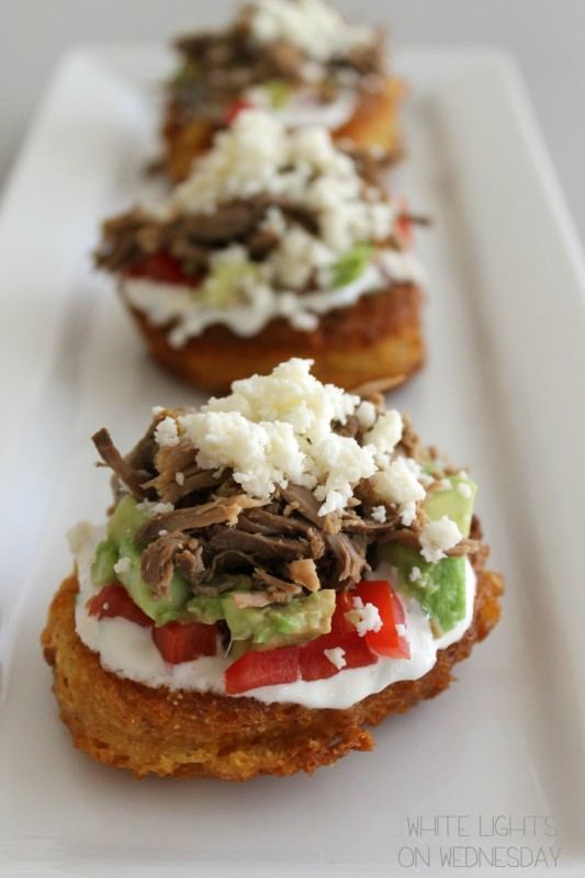 Mini Corn Cake Tostadas 6  #shop