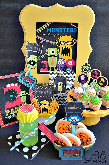 Monster Part Printables