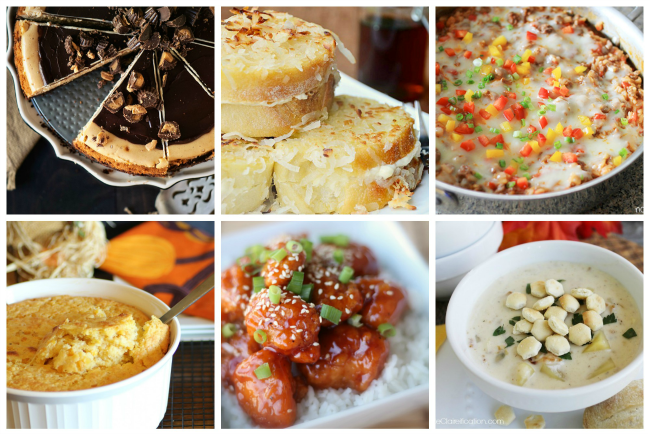 Scrumptious Sunday Monthly Menu Plan {October 2013}
