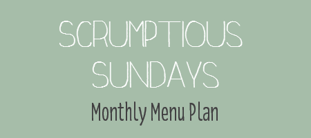 Scrumptious Sundays