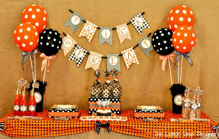 Trick or Treat Party Printables