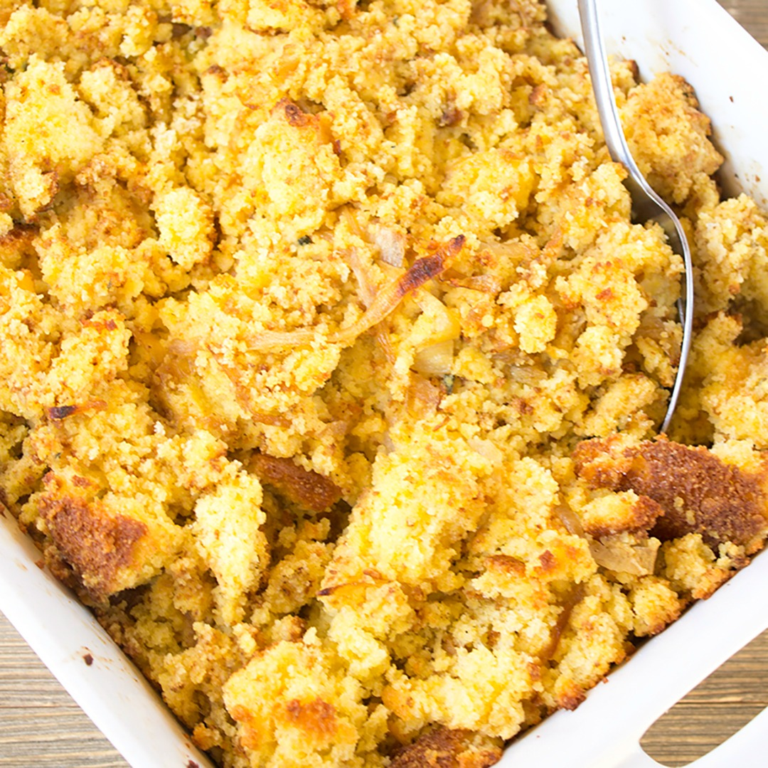 Caramelized Onion & Cornbread Dressing