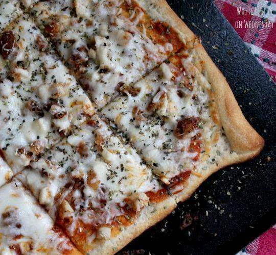 Chicken Parm Pizza 2