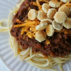Cincinnati Chili FEAT