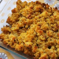 Caramelized Onion and Corn Bread Dressing