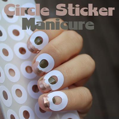 Circle Sticker Mani