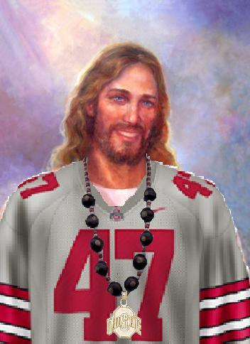 jesus is a buckeyes fan