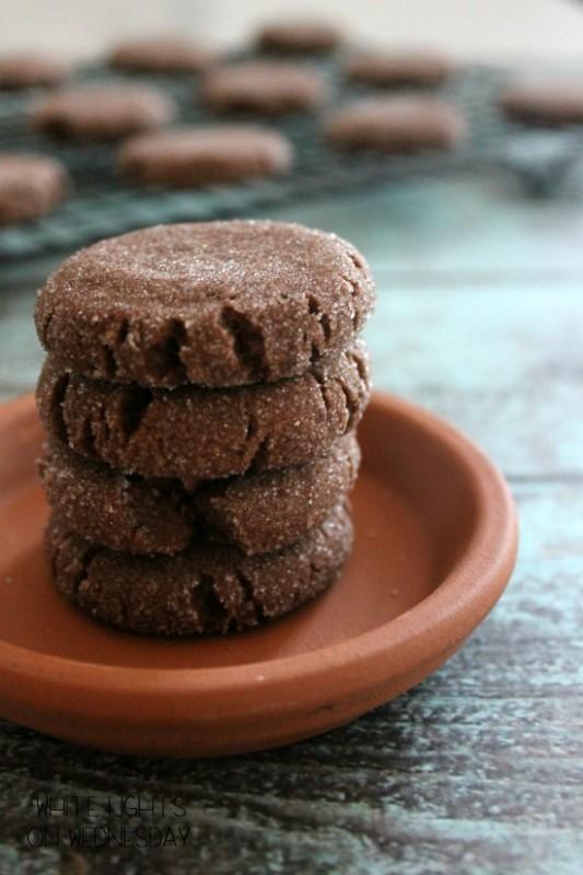 Mexican Hot Chocolate Shortbread… Yum!