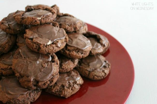 Chocolate-Mint Cookies