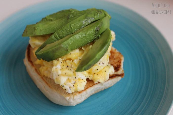 Avocado, Bacon & Brie Breakfast Sandwich 1