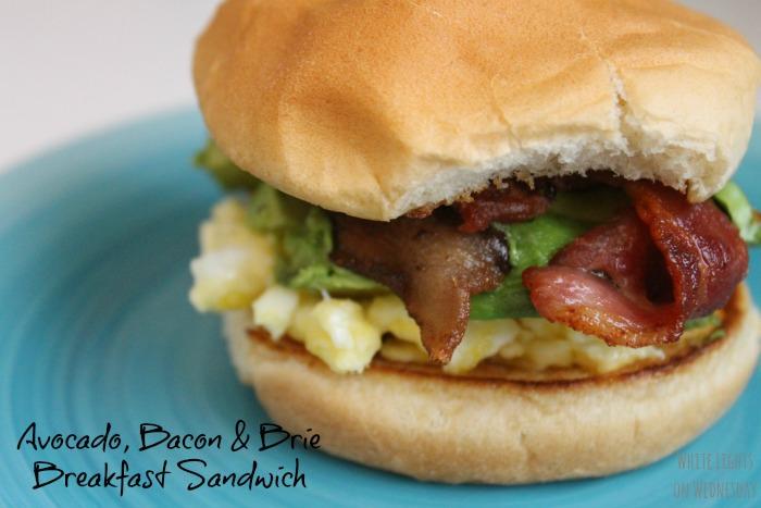 Avocado, Bacon & Brie Breakfast Sandwich 2.1