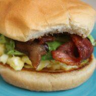 Avocado, Bacon & Brie Breakfast Sandwich
