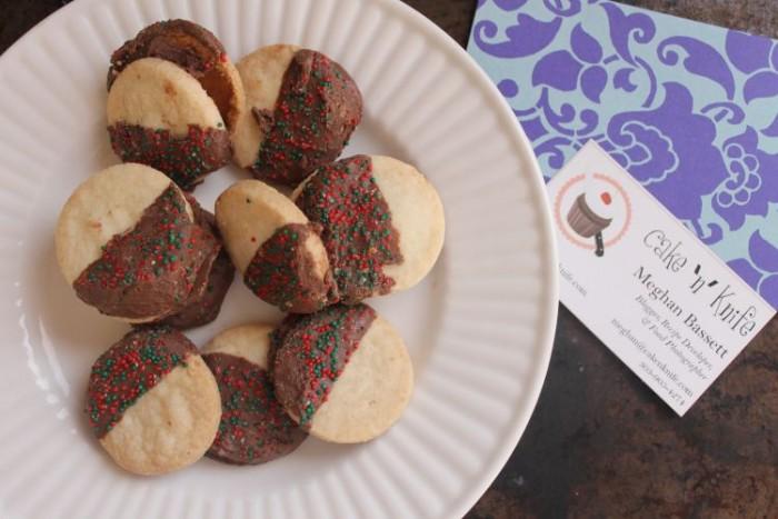 Milk Chocolate Shortbread Cookies from www.cakenknife.com