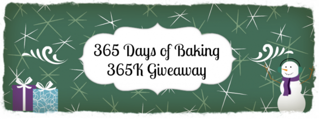 365 Days of Baking Giveaway! #callmepmc