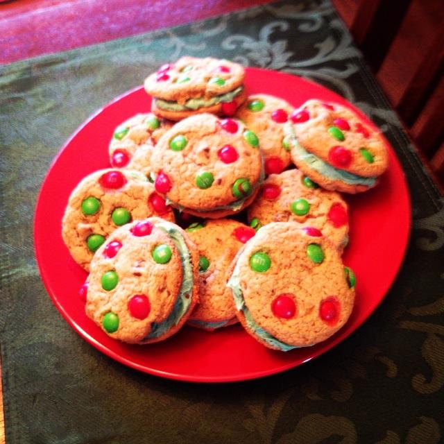 Triple Stuffed M M Chocolate Chip Cookies
