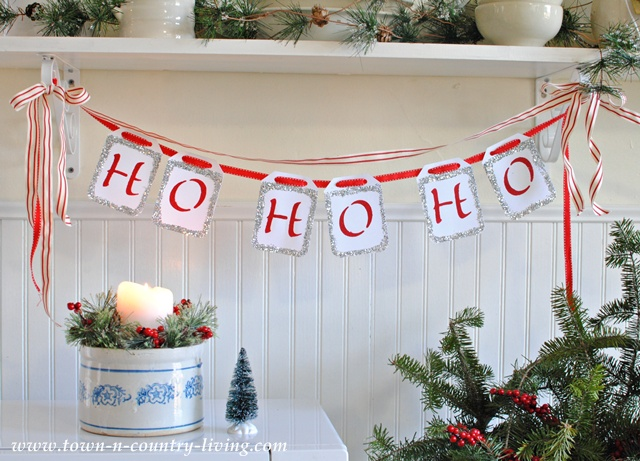 Quick & Easy Christmas Banner