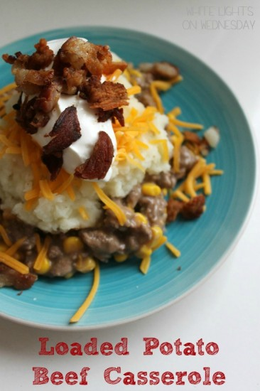 Loaded Potato Beef Casserole 2