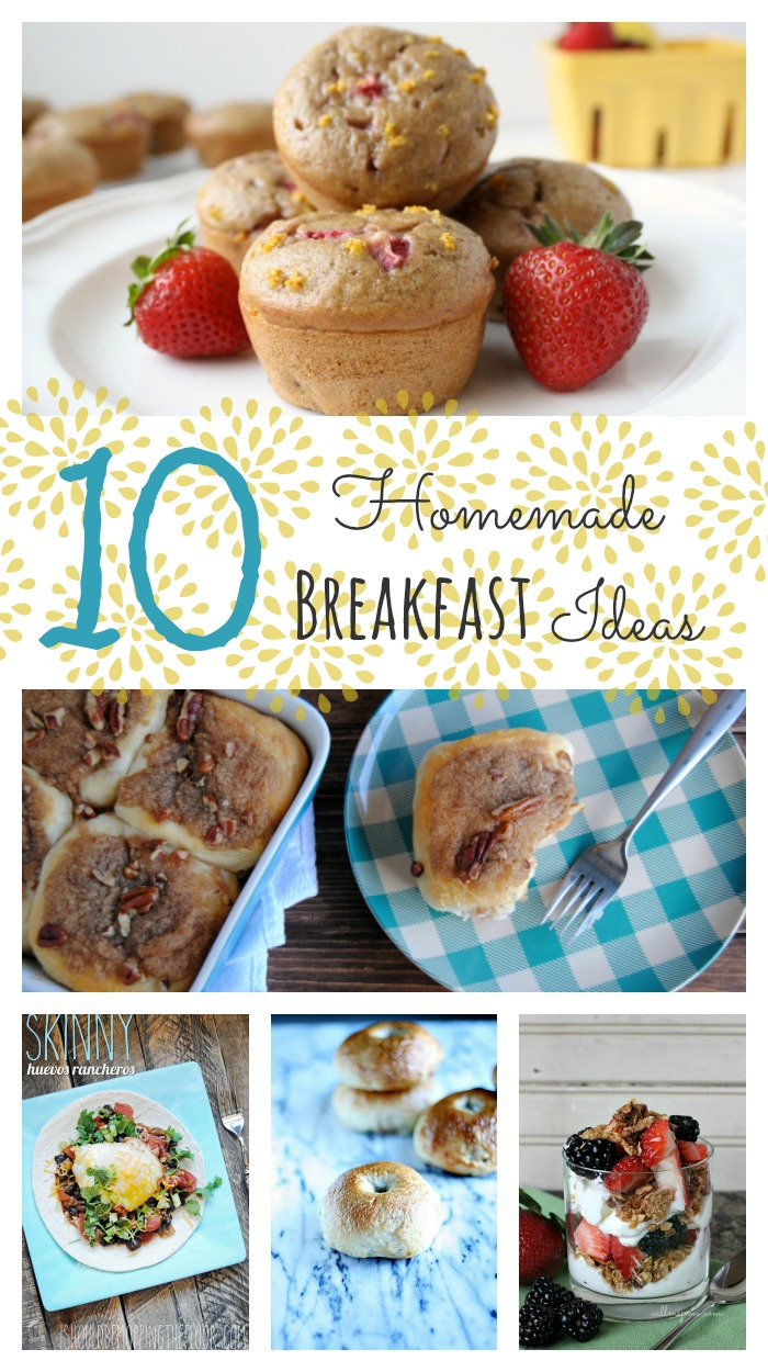 10 Homemade Breakfast Ideas from www.whitelightsonwednesday.com