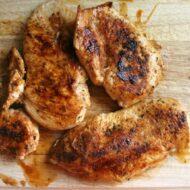 Seasoned Chicken for Tacos