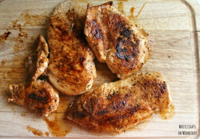 Seasoned Chicken for Tacos, Burritos, and more