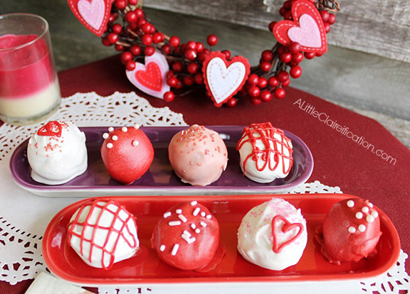 Chili Chocolate Valentine Truffles