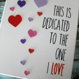 Easy DIY Valentine's Day Wall Art FEAT