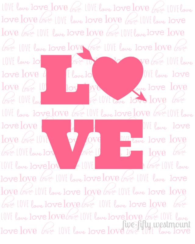 Free Valentine's Printable