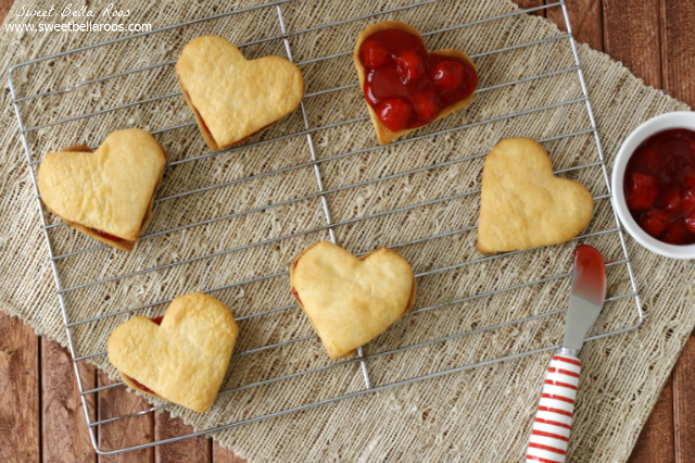 Heart Shaped Cherry Hand Pies