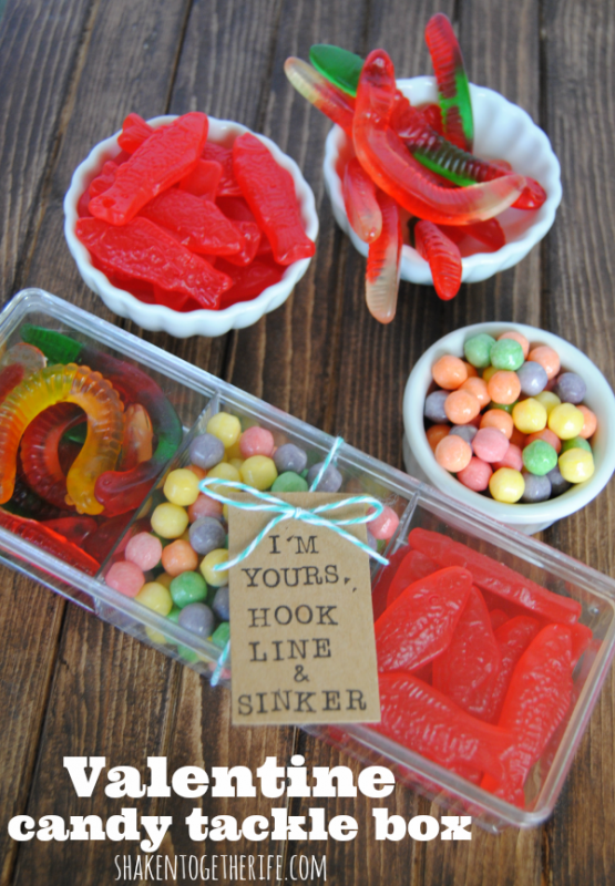 Valentine Candy Tackel Box