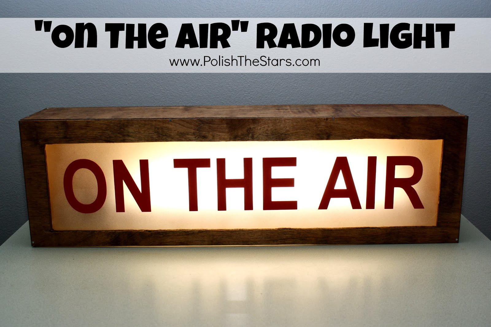 on the air light 1