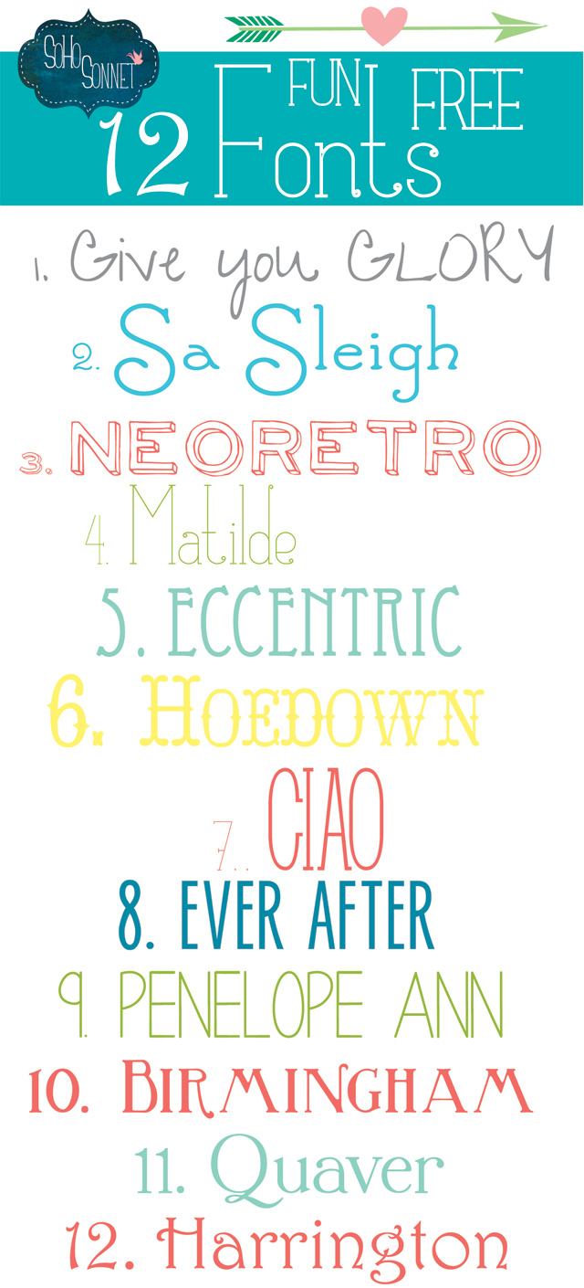12-Fun-Free-Fonts