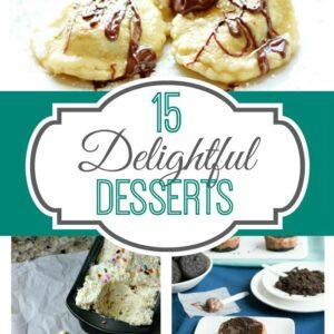 15 Delightful Desserts FEAT