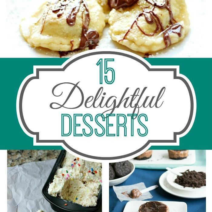 15 Delightful Desserts