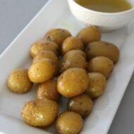 Baby Potatoes in Aioli